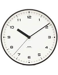 Lemnos Urban clock 城市 LC10-03 Φ20cm 石英机芯 附带支架 有秒针 壁挂钟表 黑色 φ200xD40mm LC10-03 BK