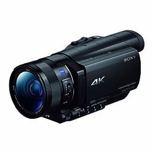 Sony 索尼 FDR-AX100E 4K高清数码摄像机 (黑色)
