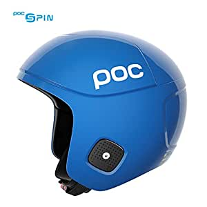 POC - 骷髅头骨骨骨头肌旋转,终极比赛头盔 铅蓝色 XS-S