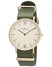 JONAS&VERUS 简尚系列 石英男士手表 时尚NATO表带 Y01646-Q3.GGXLN