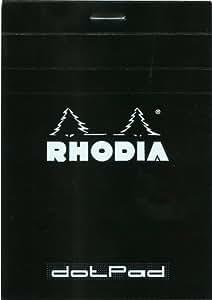 Rhodia 斑点垫 8.5x12cm 黑色