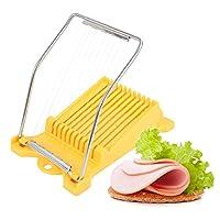 多功能切蛋器,不锈钢午餐肉鸡蛋火腿香蕉水果切片机厨房小工具