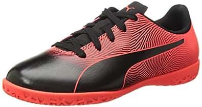 PUMA 儿童 Spirit Fg 运动鞋 Puma Black-red Blast 1.5 M US Little Kid