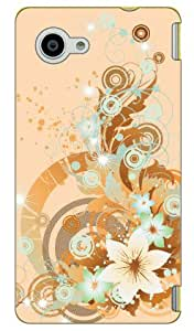 Coverfull 灯花 produced by COLOR STAGEDSH02H-ABWH-151-MBE9 for AQUOS Compact SH-02H/docomo 橙色