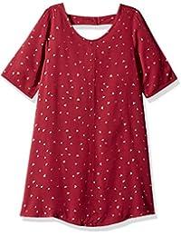 Crazy 8 女童大短袖休闲针织连衣裙