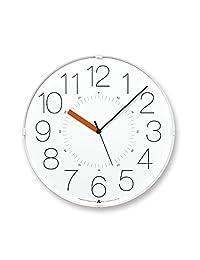 Lemnos CARA 闹钟 白色(橙针) AWA13-08 WH-O