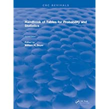 Handbook of Tables for Probability and Statistics (English Edition)