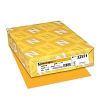 Astrobrights Color Paper, 8.5? x 11?, 24 lb/89 gsm, Galaxy Gold, 500 Sheets (22571)