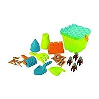 Discovery Toys 沙工城堡套装儿童动力学习|海滩玩具| STEM 玩具早期儿童开发3岁及以上