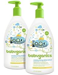 中国亚马逊:Babyganics 甘尼克宝贝 无香型 宝贝日用保湿乳502ml*2瓶121.76元(直邮低至136元)