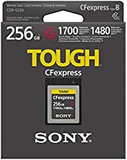 Sony CEB-G256 256GB Ultra Speed CFexpress 内存卡 1700MB/s 可读/写/1480MB/s