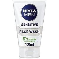Nivea 男士敏感洁面乳,100 毫升 – 3件装