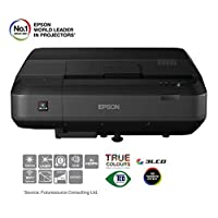 Epson 爱普生 EH-LS100 超短焦激光投影仪,黑色