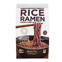 Lotus Foods Rice Ramen Noodles 带美味汤 2.8 oz (Pack of 10)