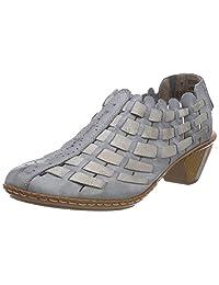 Rieker 女 低跟鞋 46778 (亚马逊进口直采,德国品牌)