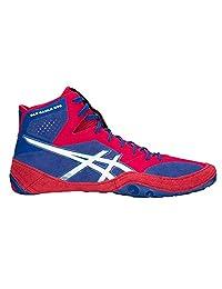 ASICS J700Y 男士 Dan Gable Evo 摔跤鞋 Asics 蓝色/白色 15 M US