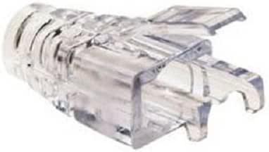 Platinum Tools 202036J EZ-RJ45 CAT6+ 透明应变缓解器,100 只装 202036J