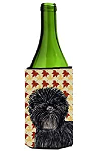 Affenpinscher Fall Leaves Portrait Michelob Ultra Koozies for slim cans SS4345MUK 多色 750 ml