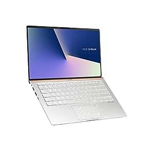 ASUS 华硕 ZenBook 14 UX433FA (90NB0JR4-M04270) 35.5厘米(14英寸全高清,WV,哑光)超极本(英特尔酷睿i5-8265U,8GB 内存,256GB 固态硬盘,英特尔超高清显卡620,Windows 10)Icicle Silver