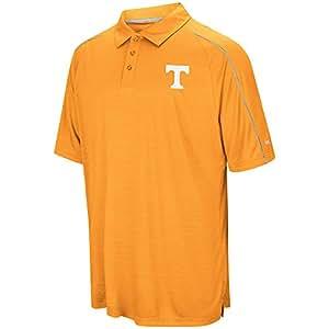 Colosseum NCAA 男士装特短袖教练 Polo 衫,田纳西大学志愿者队