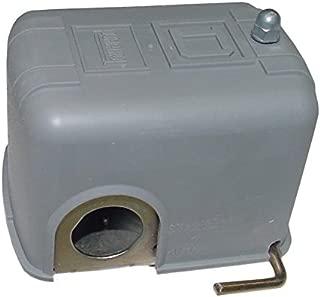Merrill MFG FSG2M440 方形 D 压力开关,适用于泵应用,预置 psi 设置 40/60,34-65 psi 切割范围,包括低压切割,12.7 厘米