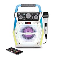 The Singing Machine SML2200 发光蓝牙 CDG 卡拉 OK 机
