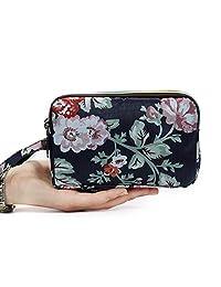 HUNGRE 女式防水智能手機腕包,手包錢包適用于 iPhone 6 6S Plus / 7/7 Plus Q55206