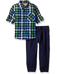 Lee 男孩2件条纹长裤套装