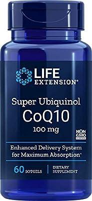Life Extension Super Ubiquinol 辅酶Q10 100毫克,60粒软胶囊