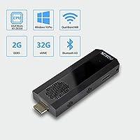 迷你电脑,Intel Atom Z8350 电脑 Stick Windows 10 Pro 64 位,2GB DDR 32GB eMMC,4K HD,蓝牙 4.2,双频 WiFi AC 2+32G/Intel Atom Z8350/A1