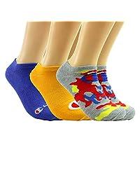 Champion LIFE 男式迷彩超隐形袜 3 双装