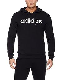 adidas NEO 阿迪达斯运动生活 男式 NEO 套头衫 CV7005 黑/白 M CE OTH HOODIE
