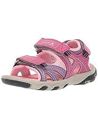 Kamik 女童 Cape 系帶涼鞋