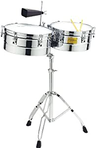 Tycoon Percussion 14 Inch & 15 Inch Chrome Shell Timbales