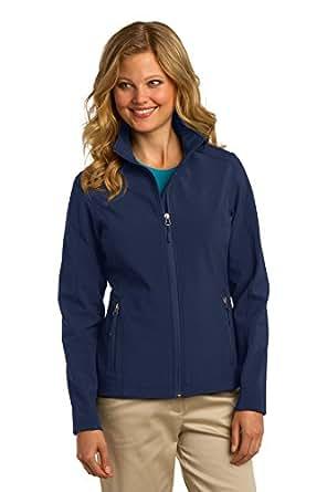 Port Authority Women's Core Soft Shell Jacket XXL Dress Blue Navy
