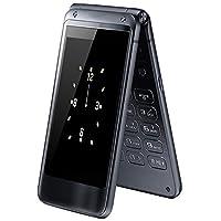 纽曼(Newman)F9 翻盖双屏移动联通老人手机大字大声一键拨号老年机翻盖接听男女老人机 (宝石蓝)