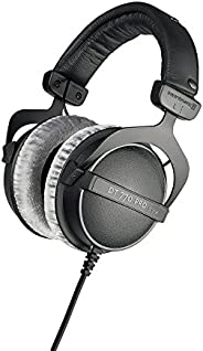 beyerdynamic 拜亞動力 DT 770 PRO 80 Ohm 黑色錄音室耳機,封閉式設計,有線,可進行專業記錄和監控