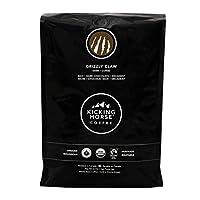 Kicking Horse Coffee Grizzly Claw深度烘焙咖啡豆, 2.2磅(1kg) - 公平貿易,猶太潔食咖啡