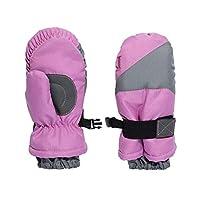 Igloos 女孩手套防水滑雪手套 - 儿童隔热,适合寒冷冬季