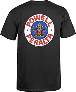 powell-peralta supreme T 恤(黑色 )