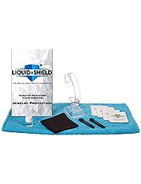 液体防护纳米涂层手表和精美珠宝防刮珠宝应用套件 - 防腐保护 - 包括超细纤维布、清洁纸巾等
