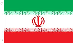 Allied Flag Outdoor Nylon Iran United Nation Flag 2 by 3-Feet