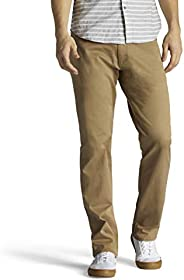 LEE Men's Performance Series Extreme Motion Straight Fit Tapered Leg
