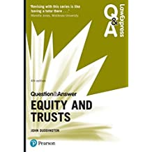 Law Express Question and Answer: Equity and Trusts (Law Express Questions & Answers) (English Edition)