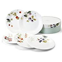 Narumi 露西花园 混装餐盘套装 17厘米 96010-21901P
