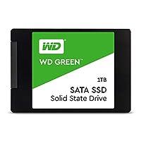 Western Digital Green 1TB 內置 PC 固態硬盤-SATA III 6 Gb / s,2.5英寸/ 7毫米-WDS100T2G0A