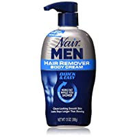 Nair Men Hair Removal Body Cream 13 oz (Pack of 3)