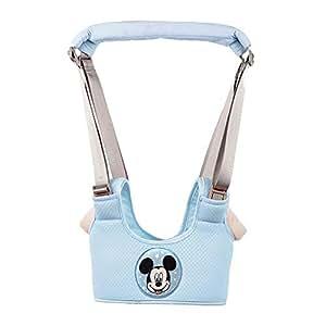 迪士尼(Disney) 婴幼儿学步带防摔安全透气四季通用 宝宝婴儿学走路防勒 (米奇蓝)