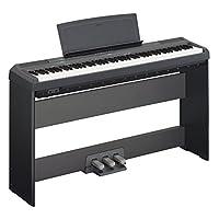 YAMAHA 雅马哈 P-115B全套88键数码钢琴(含琴架L-85及LP-5A三踏板) 黑色