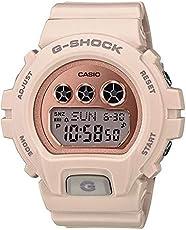 Casio 卡西欧 GMDS6900MC-4 G-Shock 女式 S 系列手表 浅粉色 46mm 树脂